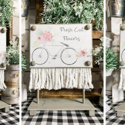 Dollar Tree DIY Spring Decor with Free Printable