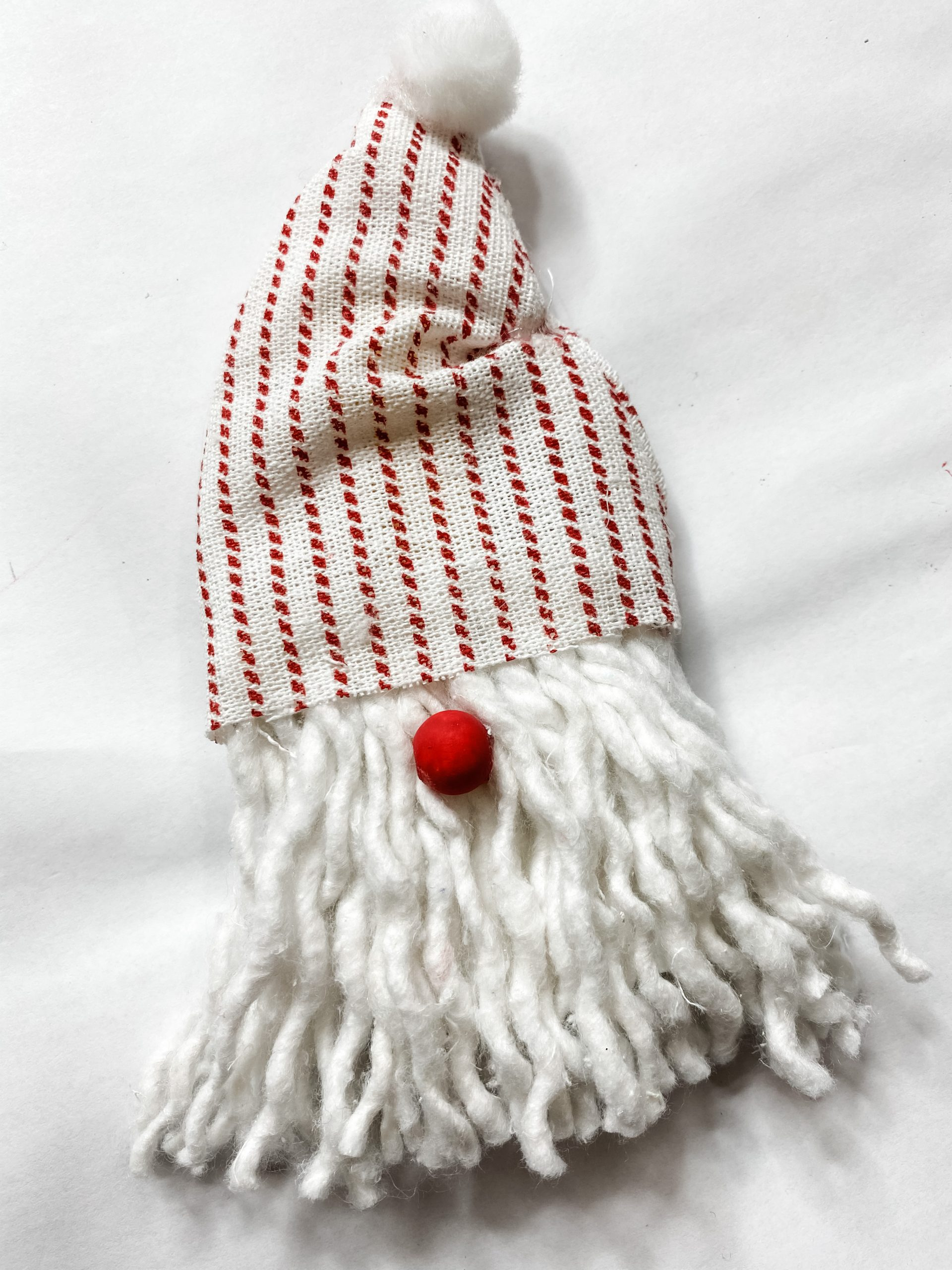 DIY Dollar Tree Mop Head Gnome