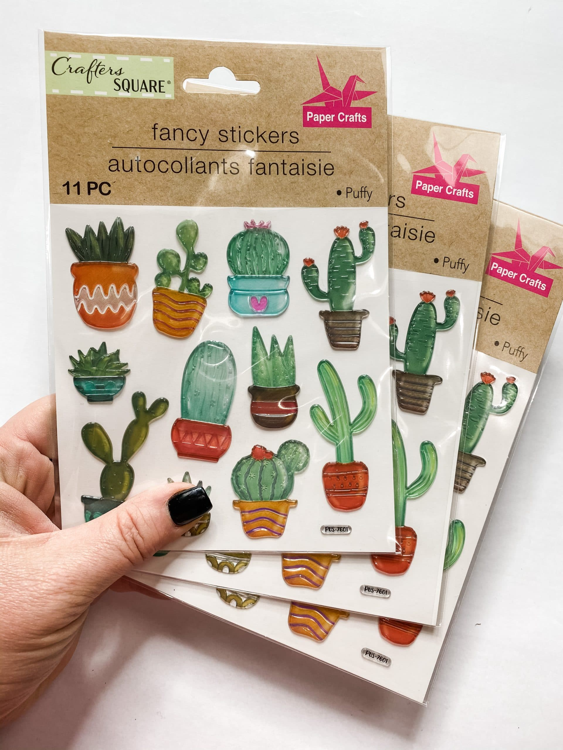 DIY Rustic Decor with Dollar Tree Succulent Stickers