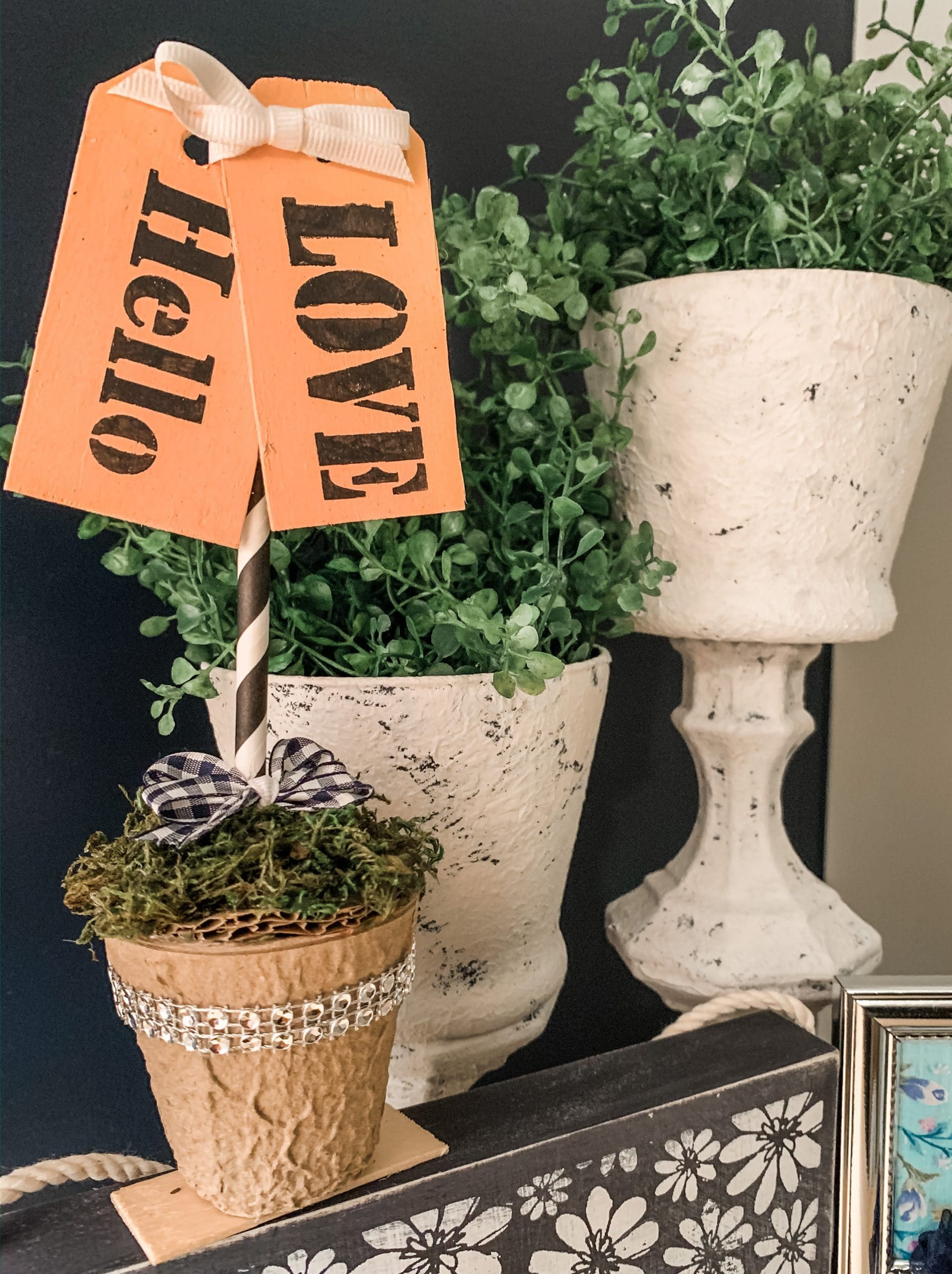 Dollar Tree Mini Planter DIY Everyday Decor