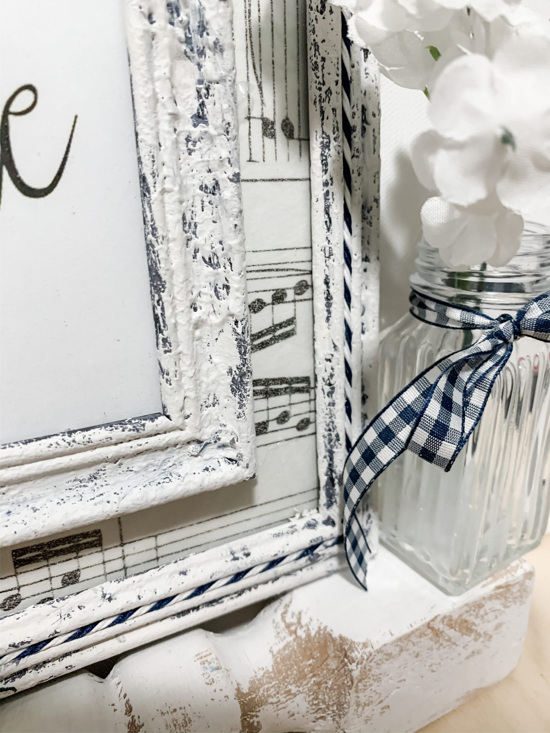 Dollar Tree Picture Frame DIY Home Decor