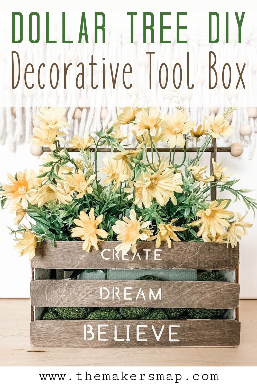 DIY Decorative Wooden Tool Box