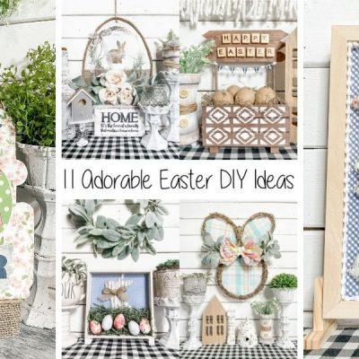 11 Adorable Easter Home Decor DIY Ideas