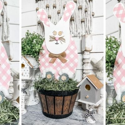 DIY Dollar Tree Paddle Board Easter Bunny