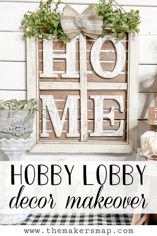 DIY Hobby Lobby Window Makeover
