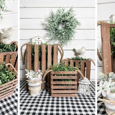 DIY Tabletop or porch lanterns