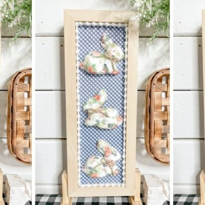 Dollar Tree DIY Shabby Chic Easter Sign