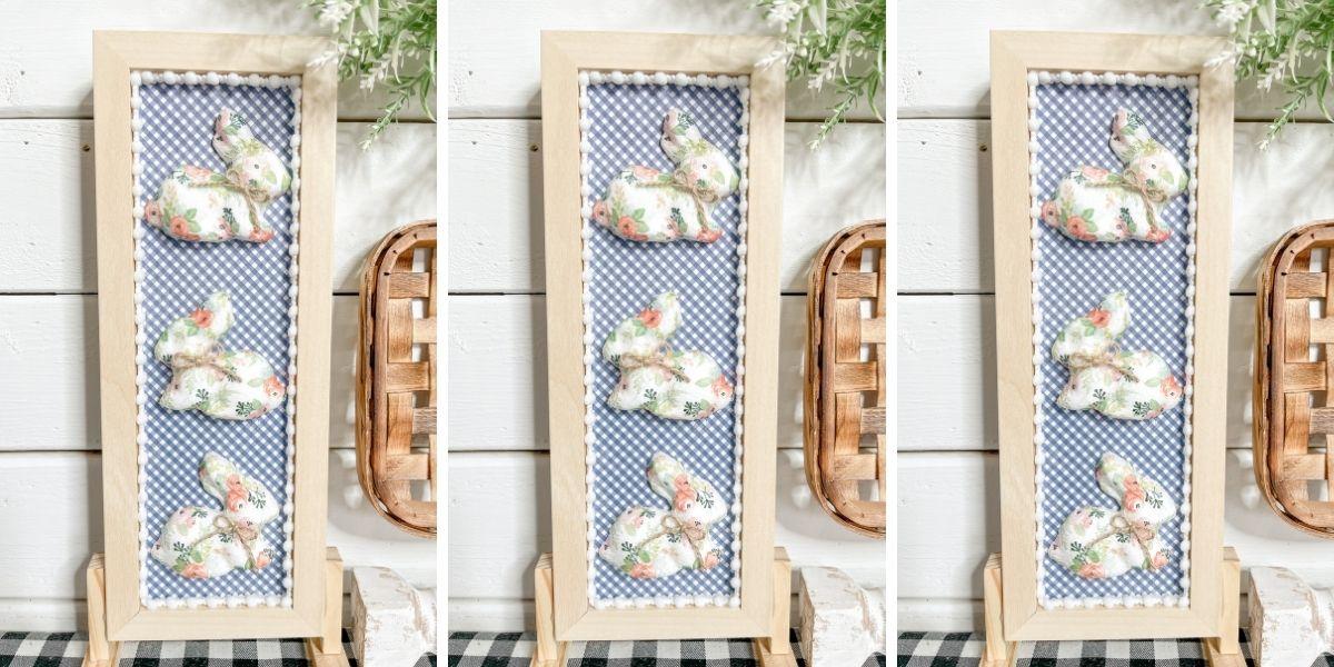 Dollar Tree DIY Shabby Chic Easter Sign