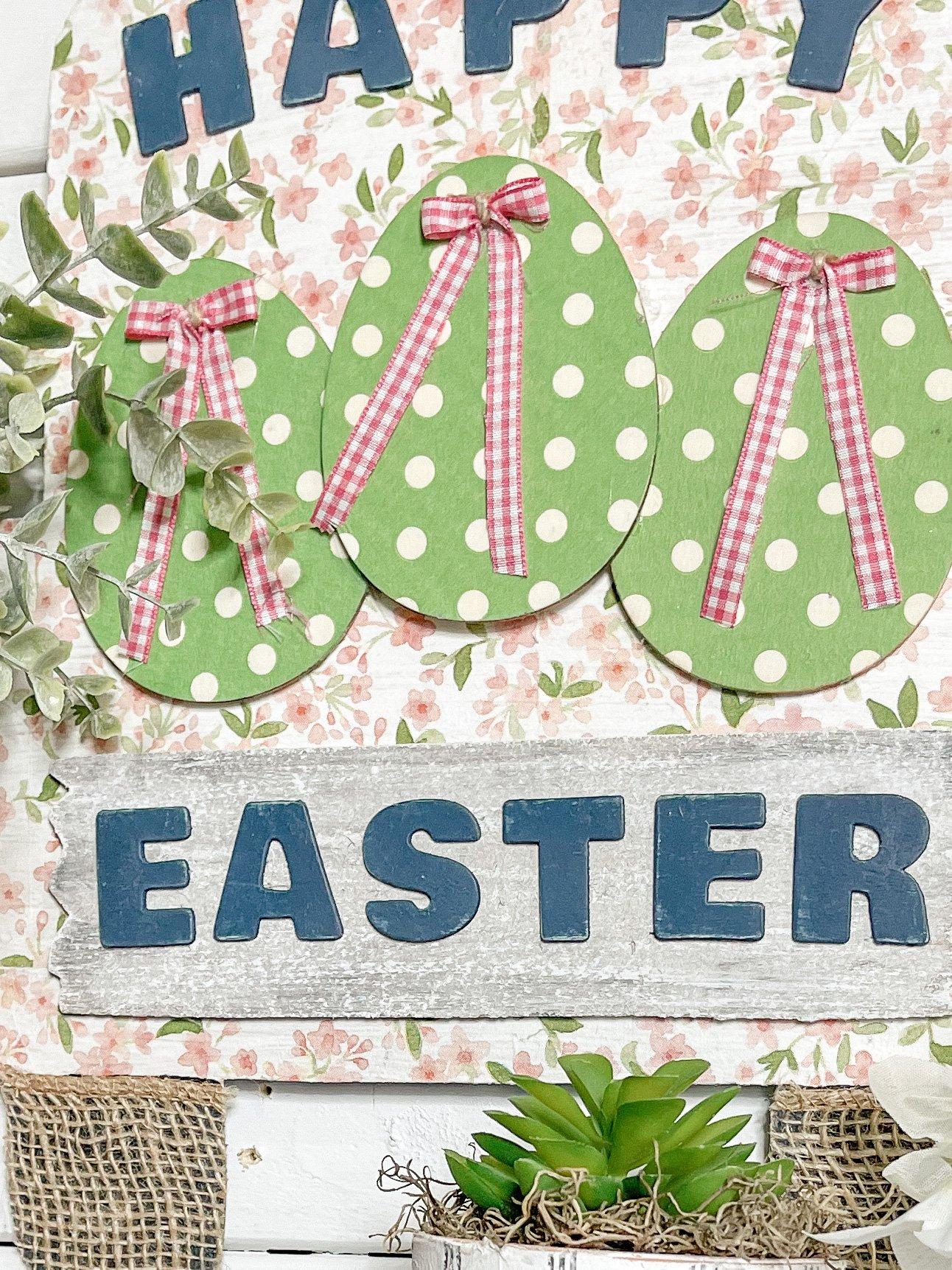 DIY Shabby Chic Happy Easter Truck