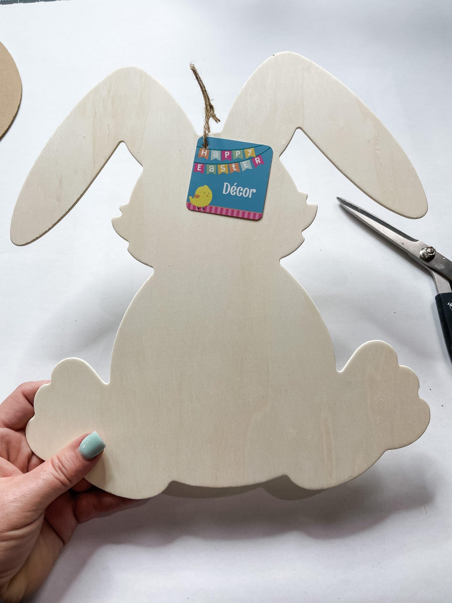 Easy DIY Dollar Tree Spring Bunny