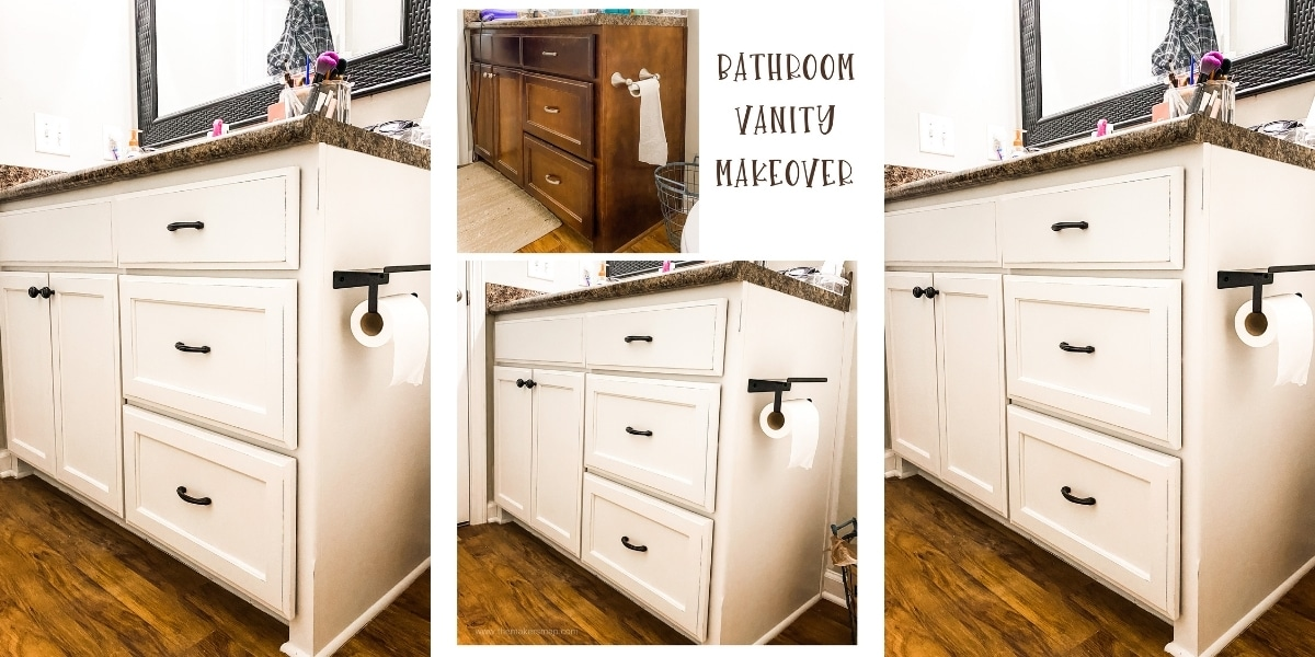 How to paint your bathroom cabinets in one weekend