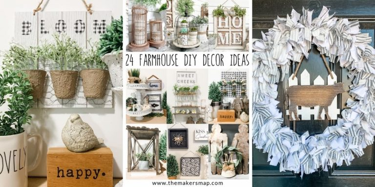 24 Farmhouse Decor DIY Ideas