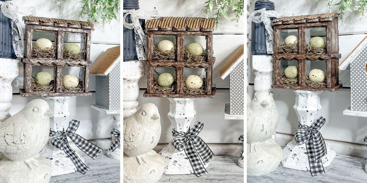 DIY Chicken Coop Decor with Dollar Tree Items