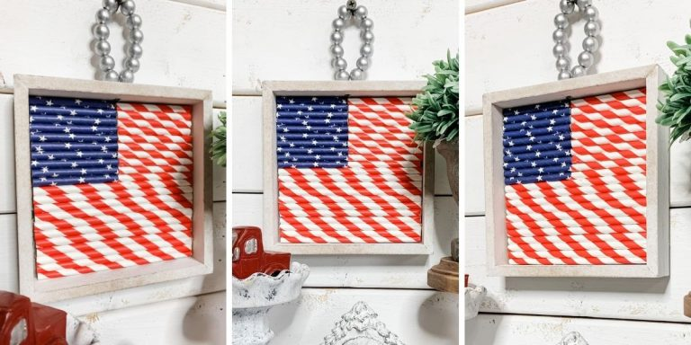 DIY Dollar Tree American Flag Decor