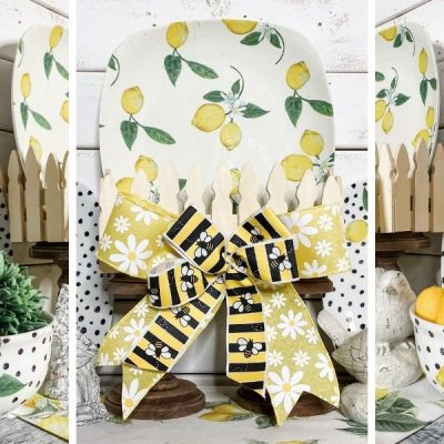 Dollar Tree DIY Lemon Themed Dishes