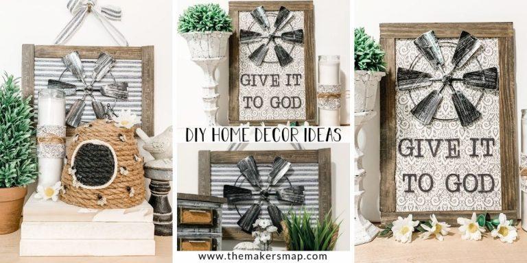 Dollar Tree Windmill DIY Home Decor Ideas
