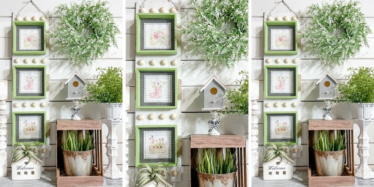 How to Turn Spring Printables into DIY Decor