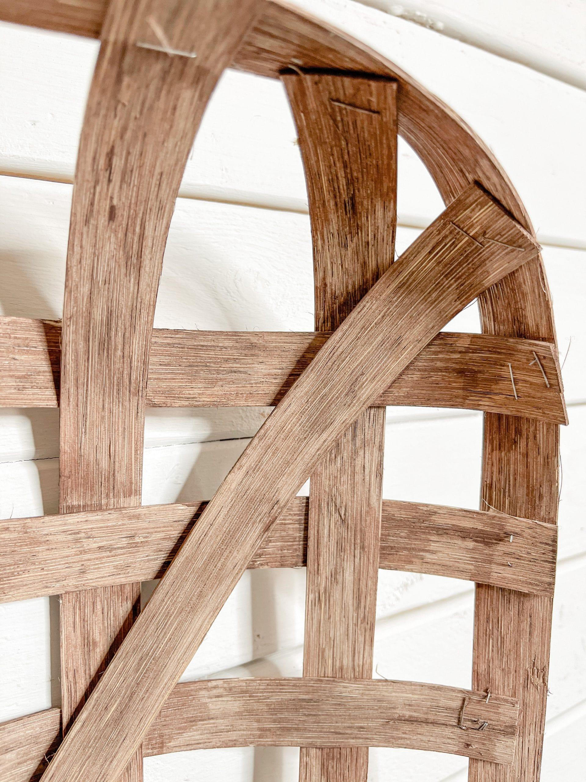 DIY Tobacco Basket Wall Decor
