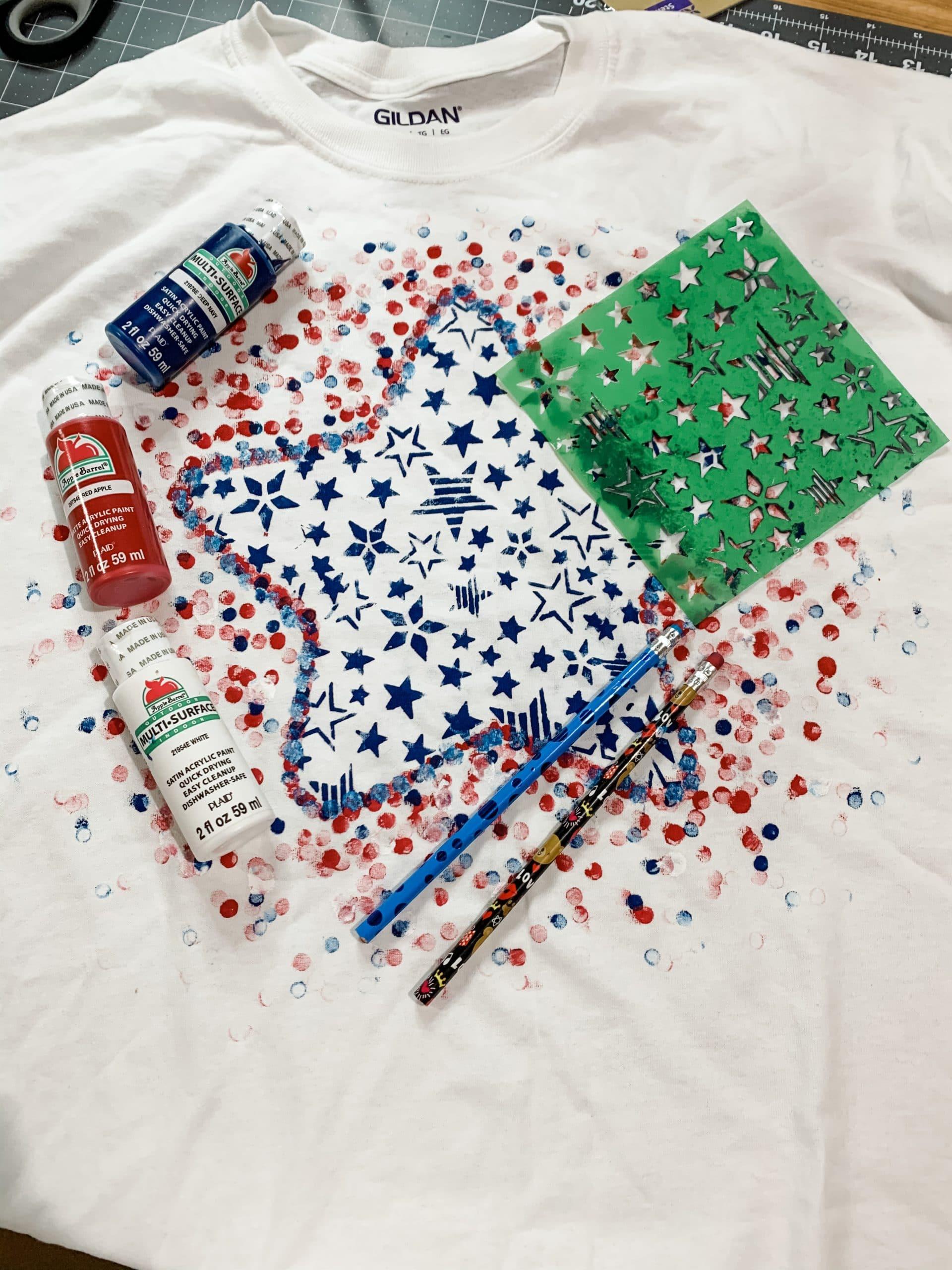 DIY 4th of July Shirt Idea