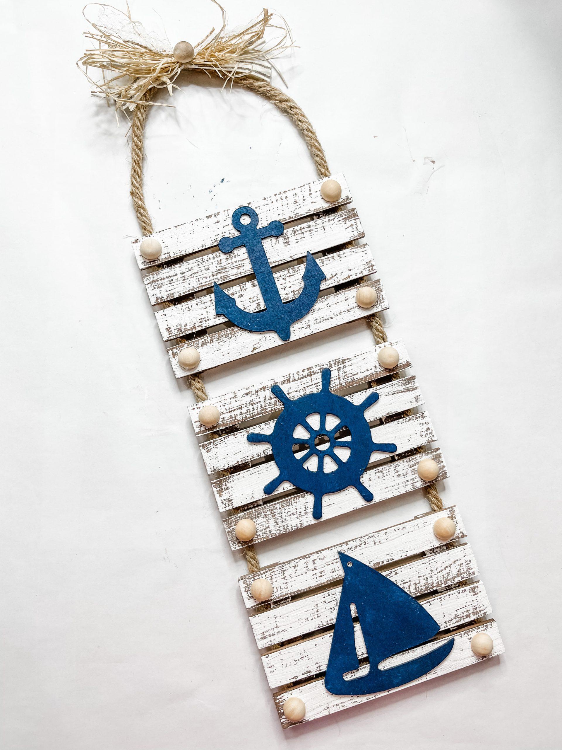 DIY Dollar Tree Nautical Decor