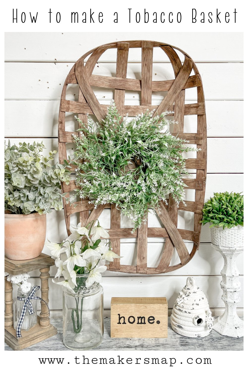 How to make a tobacco basket cheap affordable home decor ideas