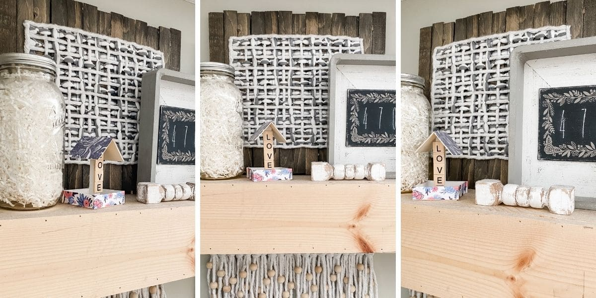 DIY Farmhouse Decor from a Dollar Tree Sink Mat