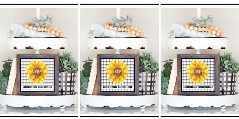 Free Sunflower Printable for Fall