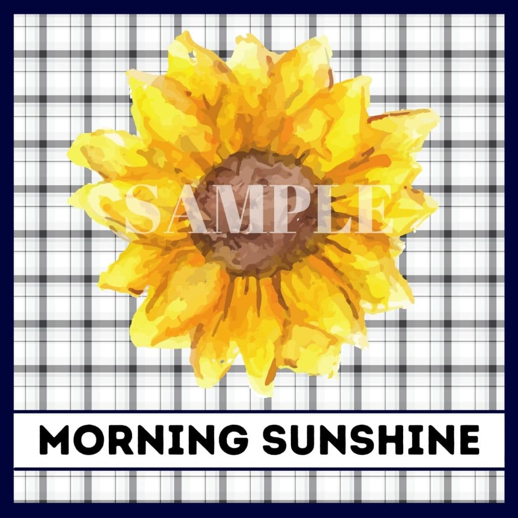 fall sunflower printable great for tiered tray