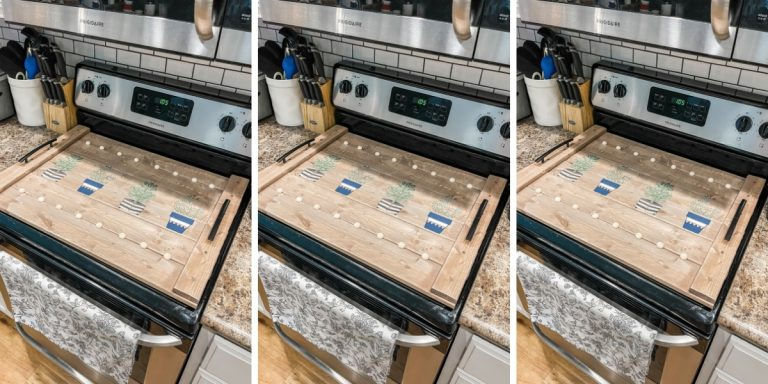 DIY Stove Cover / Noodle Board