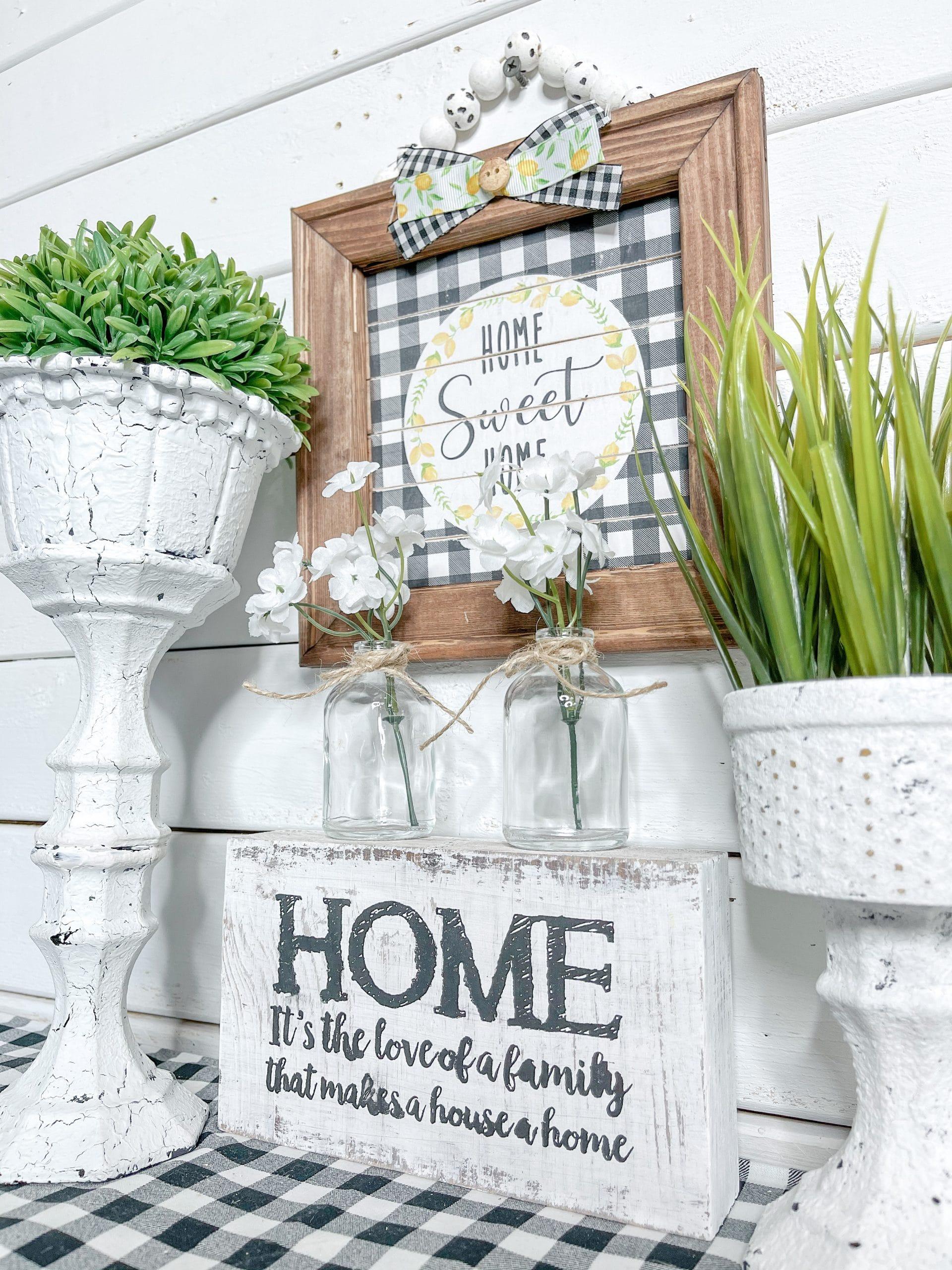 Home Sweet Home Lemon Printable DIY Decor