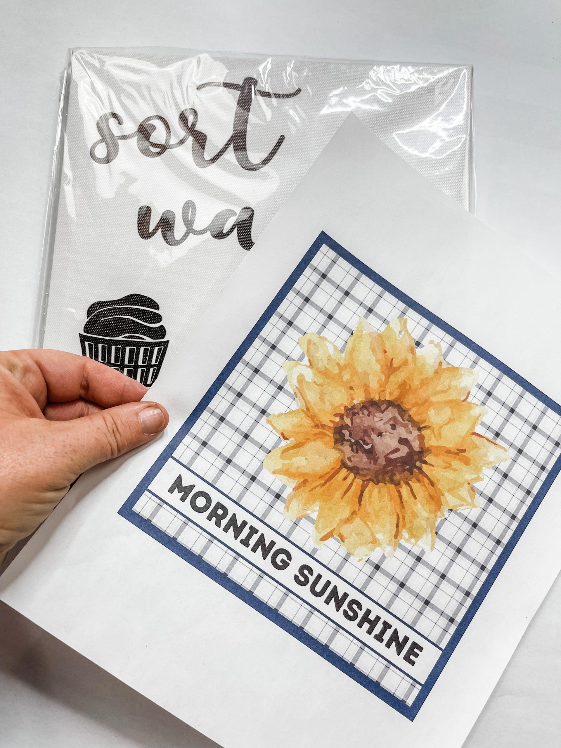 FREE Sunflower Printable DIY Home Decor