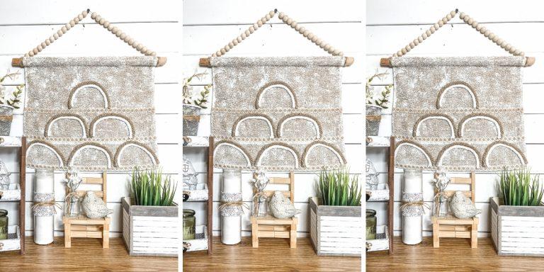 DIY Boho Tapestry Wall Decor