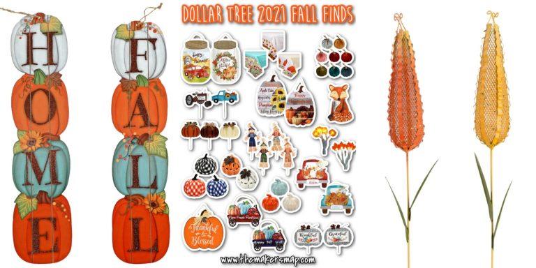 New Dollar Tree 2021 Fall Finds