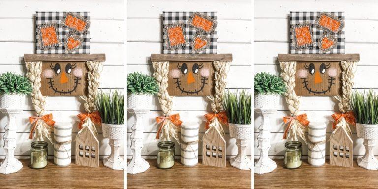 DIY Scarecrow Gnome for Fall